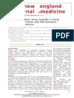 Acetaminophen Versus Ibuprofen in Young Children With Mild Persistent Asthma