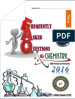 Frequently Asked Ouestions Chemistry F4