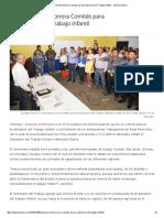 8/10/16 Operan en Todo Sonora Comités Para Erradicación Del Trabajo Infantil - Opinión Sonora