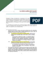 La visión andina del mundo. Lozada Blithz.pdf