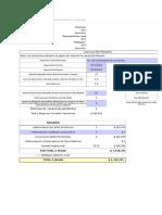 Planilla de Excel de Calculo de Finiquito Chiles