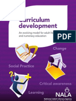 Curriculum Development - An Evolving Model for Adult Literacy and Numeracy Education_0