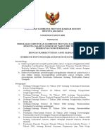 Peraturan Gubernur Nomor 68 Tahun 2005 Tentang Perubahan Keputusan Gubernur Nomor 115 Tahun 2001 Tentang Pembuatan Sumur Resapan
