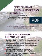Paparan Konsep Naskah Akademis Sempadan Sungai