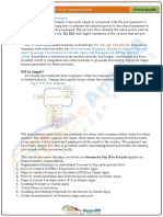 P2P - Oracle Procure to Pay Life Cycle Training Manual