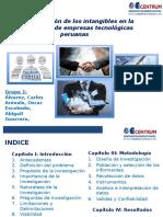 La ponderación de los intangibles en la valorización de empresas tecnológicas peruanas