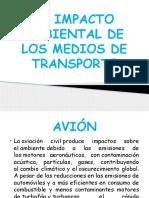 Elimpactoambientaldelosmediosdetransporte 140528080616 Phpapp02 (1)