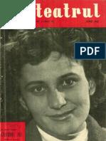 Revista Teatrul, nr. 6, anul V, iunie 1960