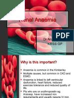 Renal Anaemia