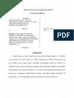 Kelvin Ross Complaint - Court Case Complaint Actual File
