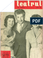 Revista Teatrul, nr. 7, anul V, iulie 1960