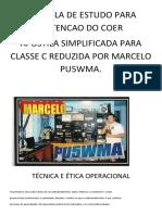 Apostila de Estudo Para Obtencao Do Coer Simplificada Etica e Tecnica Operacional.