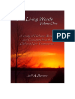 The Living Words Vol. One