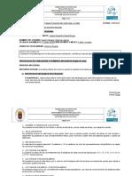 informe de evaluacion