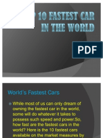 Top 10 Fastest Car in the World (2)
