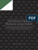 AD DURRUN NAFIS - Syeikh Muhammad Nafis Idris Al-Banjari