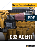 Cat C32 ACERT Marine Engine