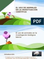 Uso de Animales en La Investigacion Cientifica....