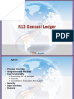 Oracle R12 General Ledger