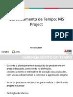 Gerenciamento de Tempo Processos- Project