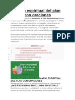 Diario Espiritual Del Plan Con Oraciones
