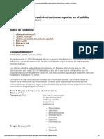 Guía Clínica de Medidas Generales en Intoxicaciones Agudas en El Adulto
