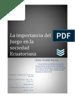 BC-Prácticas Lúdicas y Juegos-Freddy Moreno 2016-2017