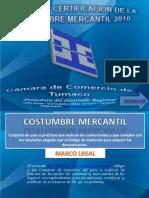 Socializacion Costumbre Mercantil 11-01-2011.