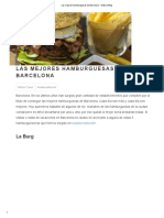 Las Mejores Hamburguesas de Barcelona - GoEuro Blog