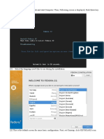 1-Install Fedora 22