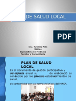 1. Plan de Salud Local