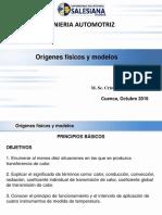 Cap. 1 Origenes Físicos y Modelos
