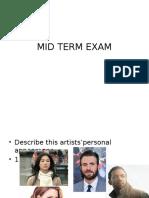 Mid Term Exam Semester 2
