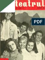Revista Teatrul, nr. 8, anul V, august 1960