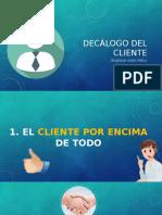 Decálogo Del Cliente