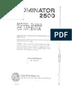 Dominator 2500