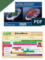 Tabla de Cultivo Floranova GHE