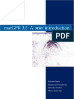 MatGPR Brief Introduction