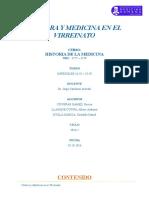 Monografía Cultura y Medicina en El Virreinato