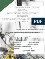 laboratorio transformadores monofasicos conectados en paralelo