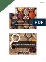 Protein Determination-29 Sept 2015