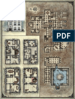 Curse of Strahd Deathhouse Player Map
