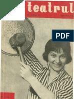 Revista Teatrul, nr. 9, anul V, septembrie 1960