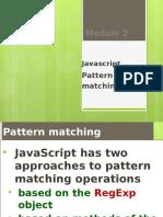 4 Pattern Matching