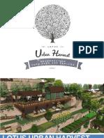 Lotus Urban Harvest Organic Farm plots agriculture land Pune | LLIPL