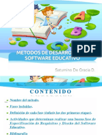 Metodos de Desarrollo de Software Educativo