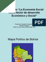 Economia Social - Bolivia