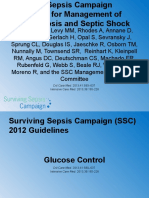 Guidelines Teaching Glucose Control
