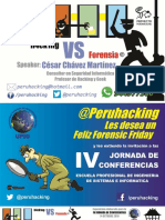 Hacking VS Forensia