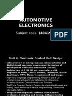 Automotive Electrical & Electronics